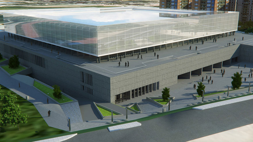 Infografia 3d infograf as 3d en arquitectura madrid - Caja arquitectos madrid ...